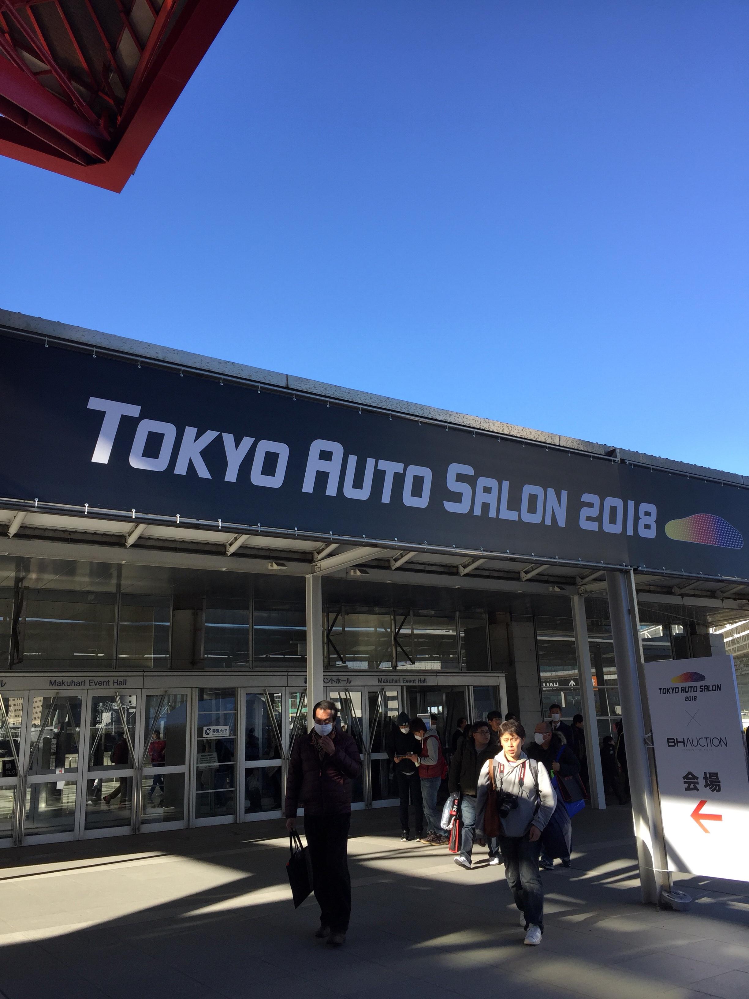 TOKYO AUTO SALON 2018へ行ってきました!