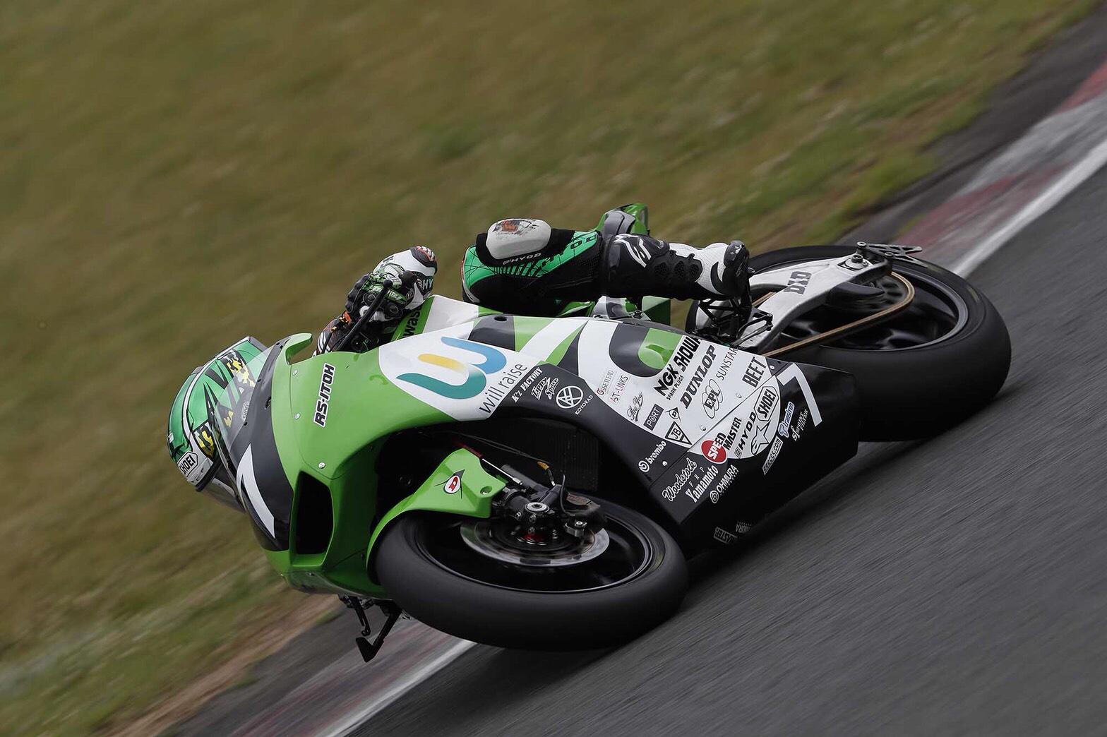 Motorzに全日本ロードレース選手権Rd.4公式予選の取材記事が公開されました。