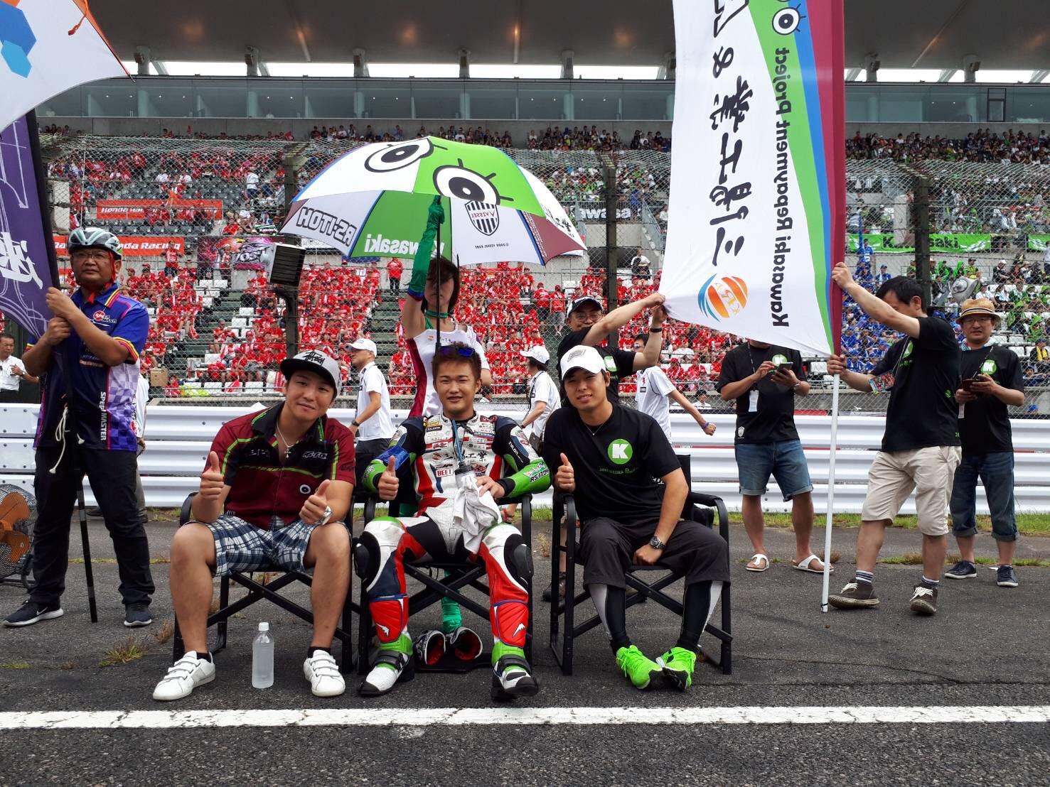 Motorzに鈴鹿8耐公式予選の取材記事が公開されました。