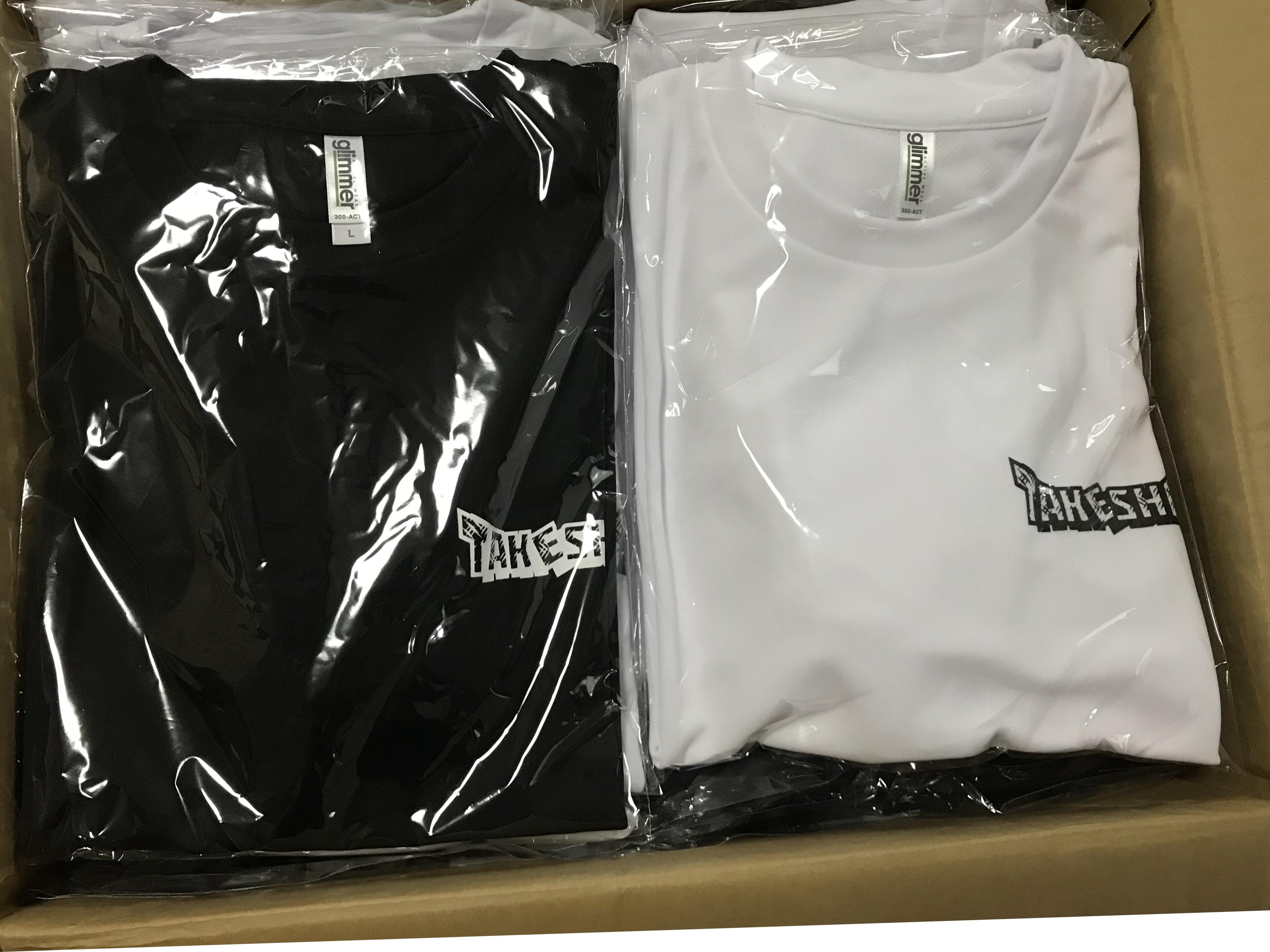 応援Tシャツ ブラックver. 販売のお知らせ!