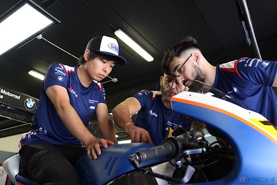 バイクのニュースさんにて【リレー式インタビュー】レーシングライダーのSTAY HOME! 石塚 健選手の場合が公開されました!